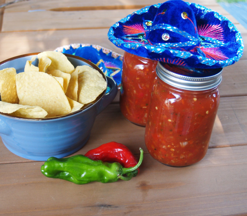 Salsa Recipe for Cannning