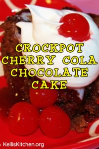 CROCKPOT CHERRY COLA CHOCOLATE CAKE
