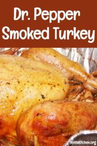 Dr. Pepper Smoked Turkey