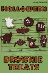 HALLOWEEN BROWNIE TREATS