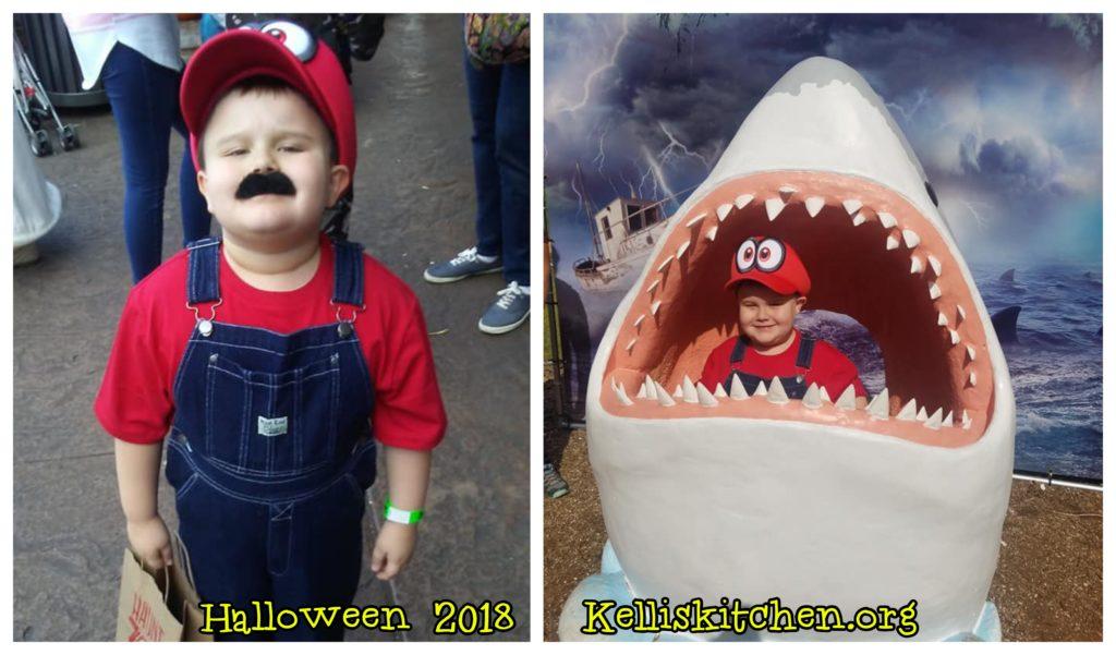 Mario Halloween 2018