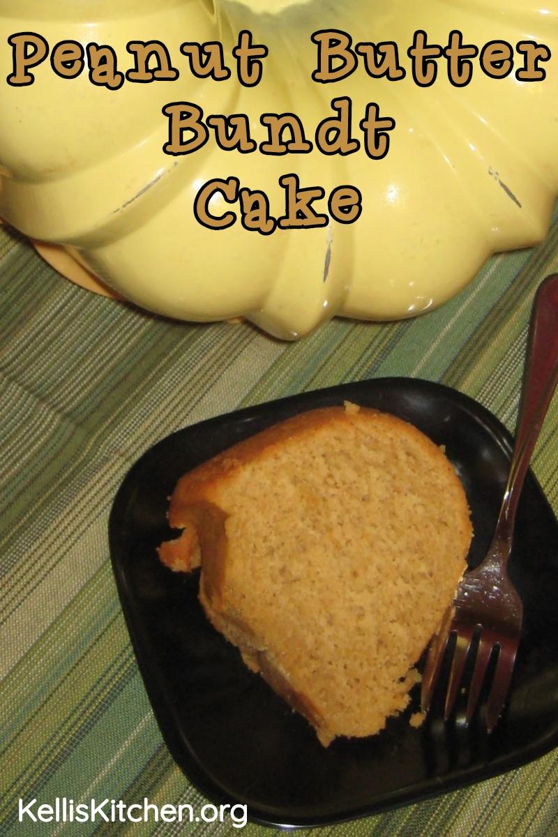 Peanut Butter Bundt Cake via @KitchenKelli