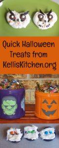 Quick Halloween Treats from KellisKitchen.org