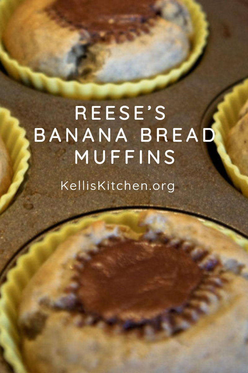 REESE'S BANANA BREAD MUFFINS