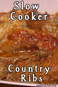 Slow Cooker Country Ribs