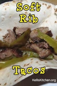 Soft Rib Tacos
