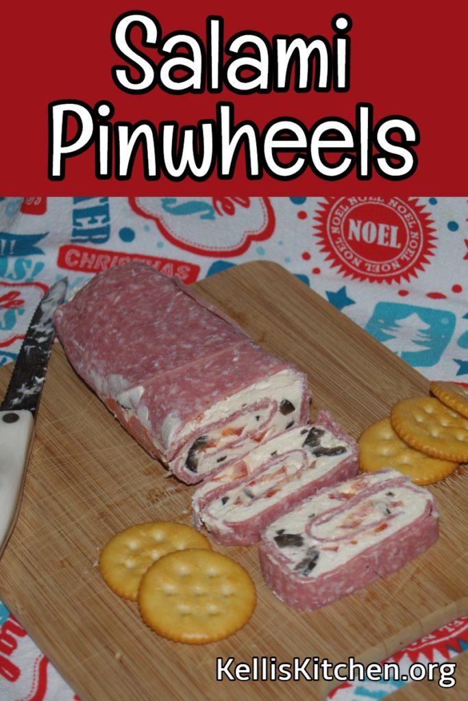 Salami Pinwheels for Any Potluck