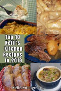 Top 10 Kelli's Kitchen Recipes in 2018!