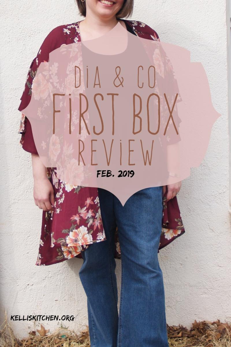 Dia & Co First Box Review February 2019 via @KitchenKelli