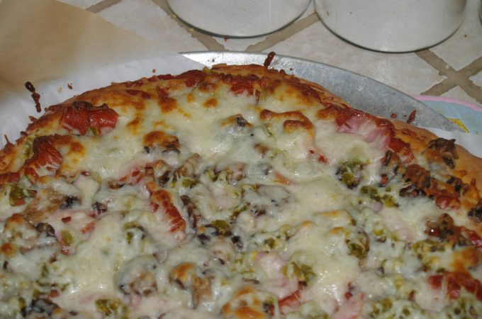 2 Ingredient Pizza Dough and Weight Watchers Pizza