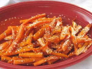 Roasted Sesame Carrots