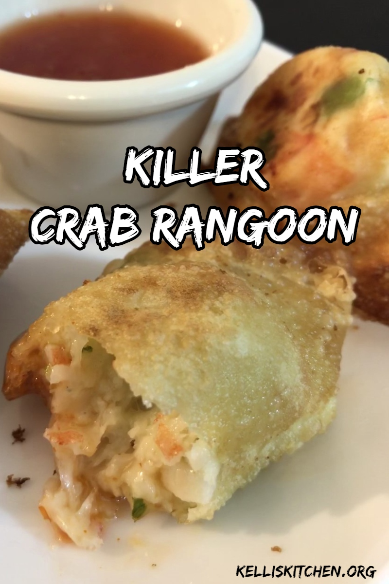 Serve this Killer Crab Rangoon with a sweet chili sauce. It's great as an appetizer, side dish, or main dish.