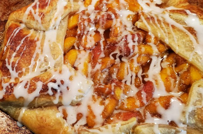 Quick and Easy Peach Galette