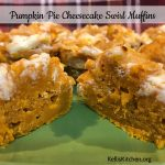 Pumpkin Pie Cheesecake Swirl Muffins